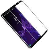 Nillkin Samsung G960F Galaxy S9 3D DS+MAX Series Black Защитное Стекло, фото 4