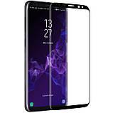 Nillkin Samsung G960F Galaxy S9 3D DS+MAX Series Black Защитное Стекло, фото 2