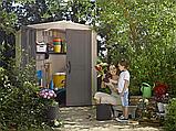 Садовий будиночок сарай Keter Factor 6x6 Shed, фото 10