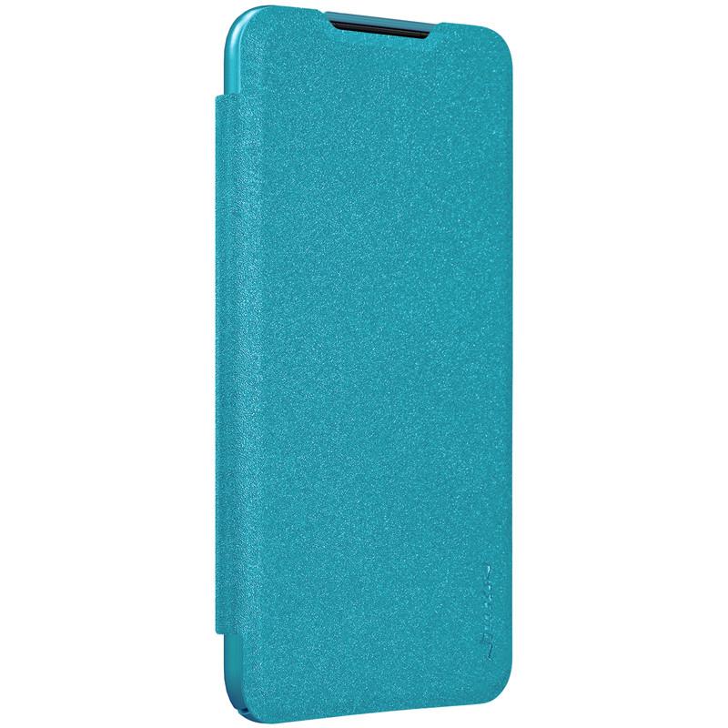 Nillkin XIAOMI Redmi 7 - Sparkle Leather Case Blue Чехол Книжка