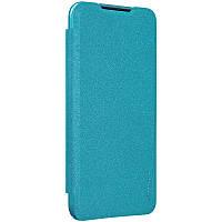 Nillkin XIAOMI Redmi 7 - Sparkle Leather Case Blue Чехол Книжка, фото 1