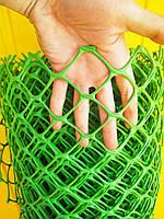 Забор (сетка) садовый пластиковый. 1.25х20м ячейка 60х60мм ячейка