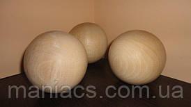 Деревянный шар, 10 см Бук