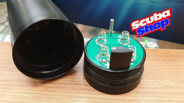Фонарь FEREI W155 V2 (3 CREE XP-L, 3 CREE XP-G) (жёлтый свет, 3000K, 3780 Lm, полный комплект)