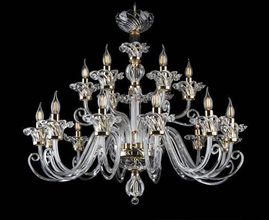 Романтичная хрустальная люстра свеча, фото 2