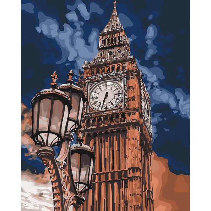 Картина по номерам Биг Бен  ТМ Идейка 40 х 50 см КНО3545