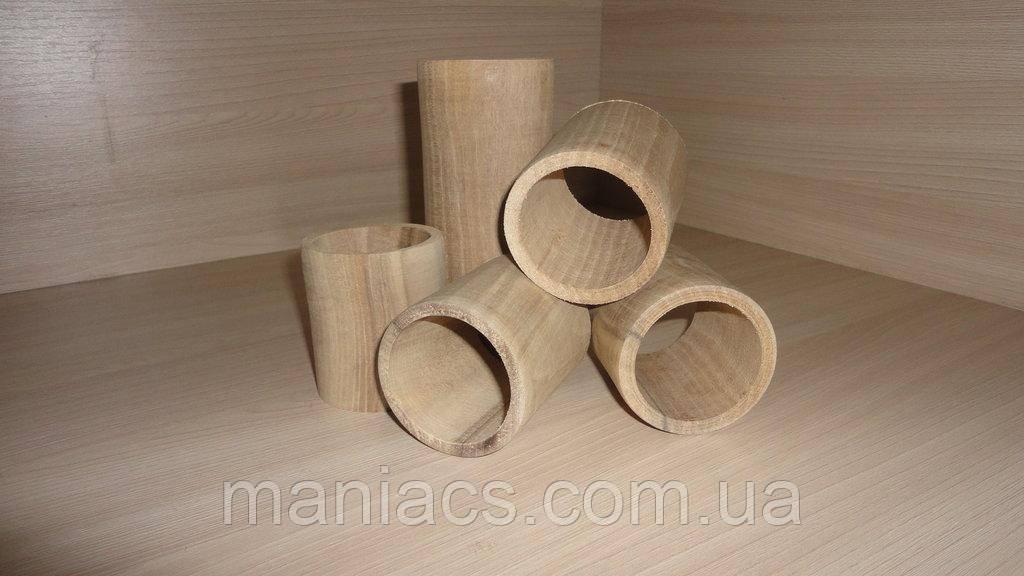 Цилиндр деревянный, полый 3 размера