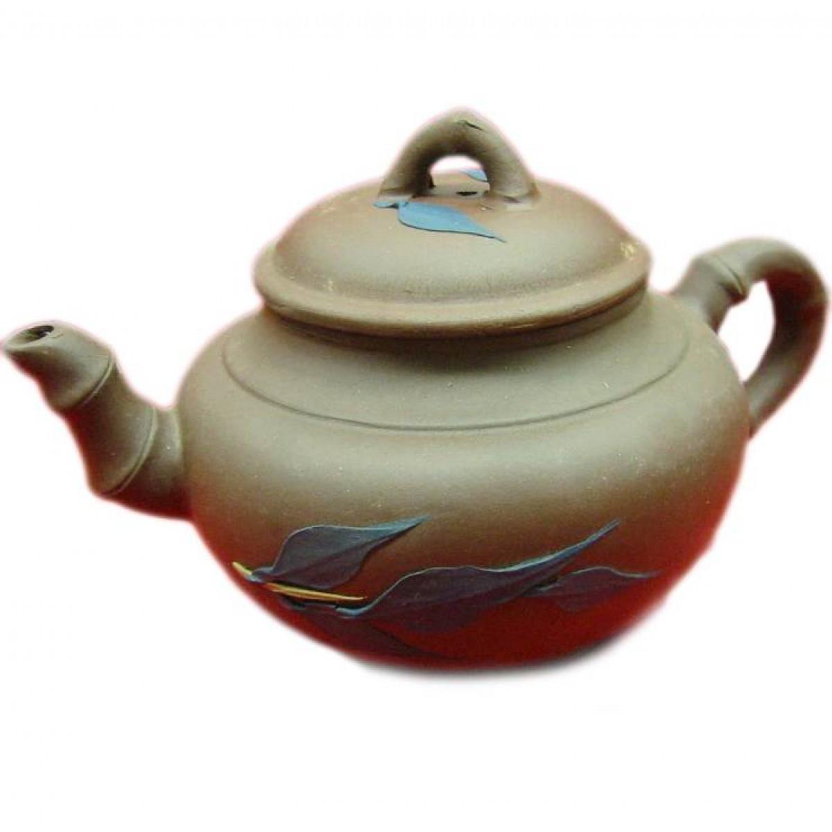 Чайник заварочный глиняный (400 мл) (17х10х10 см) ( 22457)