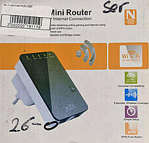 Ретранслятор (репітер) Wi-Fi Mini Router, фото 2