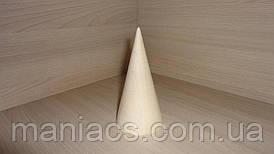 Конус з дерева, 12 см