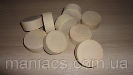 Заготівля дерев'яна - циліндр, диск