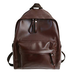 Рюкзак женский стильный большой цвета Бургунд.