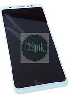 Дисплей для Meizu M8, M813H с сенсорным экраном, белый