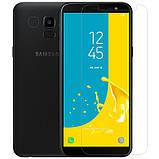 Nillkin Samsung J600F Galaxy J6 Amazing H Nanometer Anti-Explosion Tempered Glass Защитное Стекло, фото 3