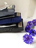 Мужские плавки в полоску с эмблемой, на вшитой резинке, Vericoh (Vericon) - качество! Мужские бамбуковые слипы, фото 4
