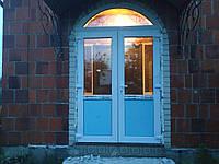 Входная группа, двери пвх, металопластиковые двери