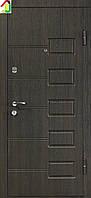 Дверь входная Министерство дверей металл/МДФ ПБ-21 Венге структурный, двери бронированные, для дома