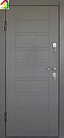 Дверь входная Министерство дверей металл/МДФ ПО-206 Венге серый, двери бронированные, для дома