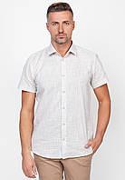 Мужская рубашка Arber 39 Бежевый (AJ 04.08.20_39/176)