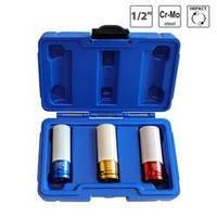 Набор ударных торцевых головок для литых дисков S&R 17, 19, 21 мм (465114003)