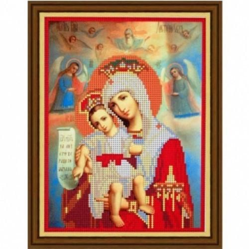 Вишивка бісером, Канва Релігія Ікони Божа матір - Достойно Є