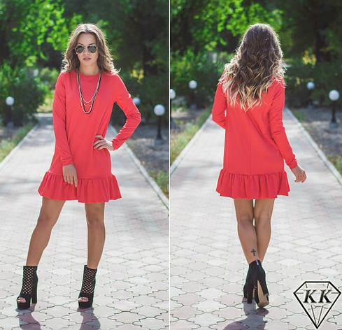 Красное платье 15515, фото 2