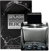 Мужская парфюмированная вода Antonio Banderas Splash Seduction in Black - 100 мл