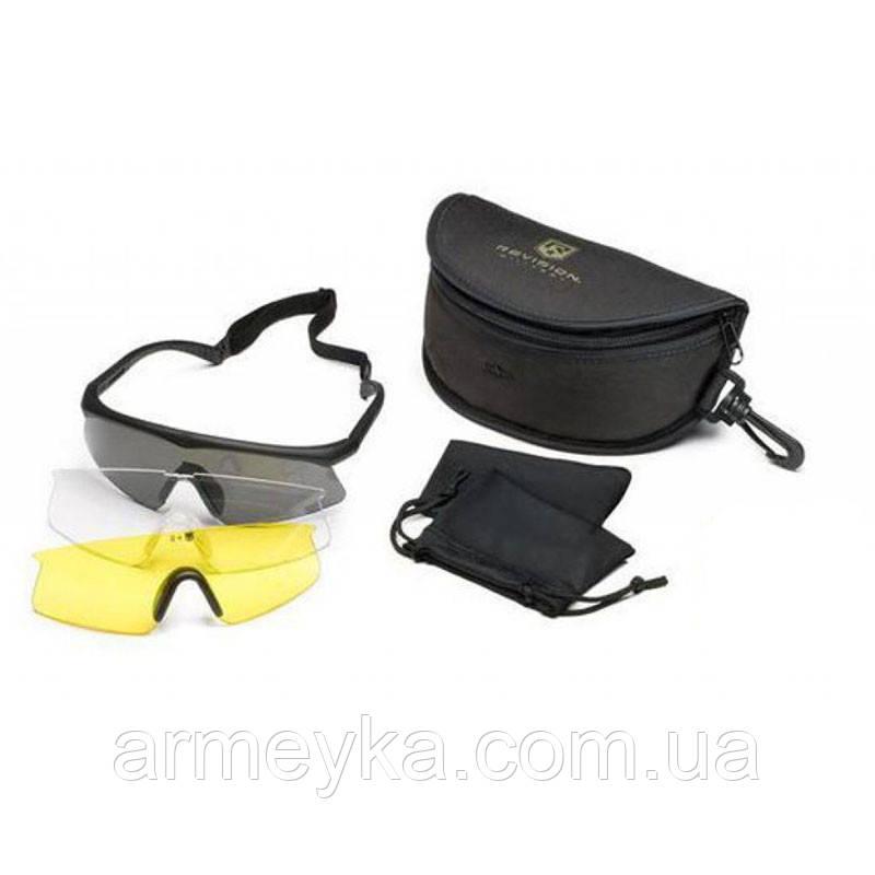 Баллистические очки Revision Sawfly Dlx, 3 линзы. НОВЫЕ. Оригинал.