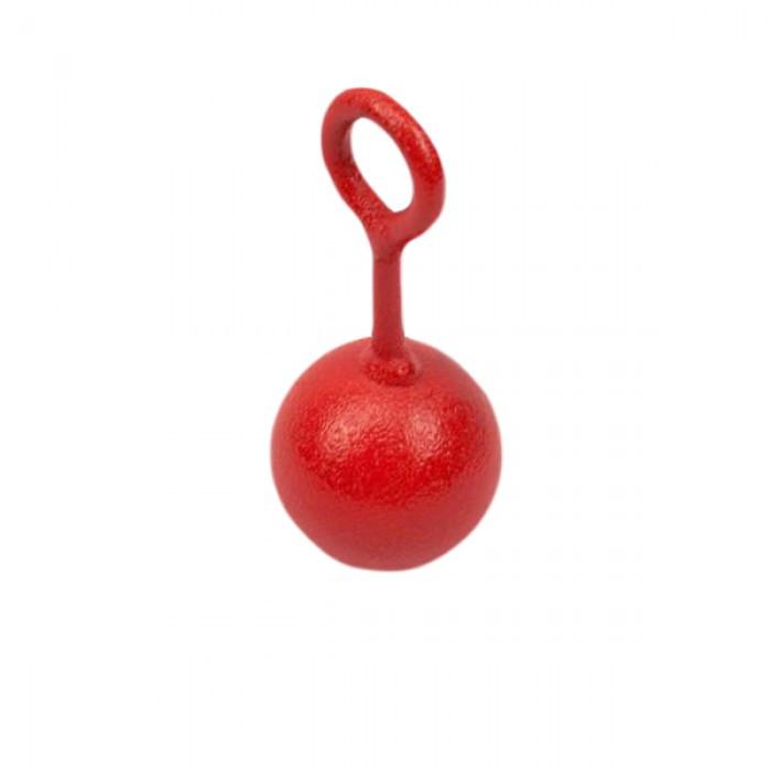 Тренажер хвата кисти VNK Ball (1 шт.) красный 0,160 кг
