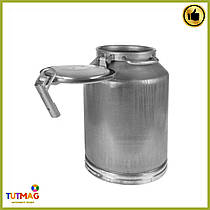 Бидон алюминиевый для молока 40 литров Калитва