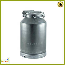 Бидон алюминиевый для молока Калитва 25литров