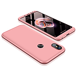 3D Чехол 360° Xiaomi Redmi 5  противоударный + СТЕКЛО В ПОДАРОК. Чохол сяоми редми 5, фото 5