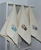 Набор полотенец Цветок (12 шт), фото 1