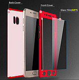 3D Чехол 360° Xiaomi Redmi Note 5 / Note 5 Pro противоударный + СТЕКЛО В ПОДАРОК. Чохол сяоми редми нот 5 про, фото 2
