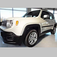 Молдинги на двері для Jeep Renegade 2014-2018, LIFT 2018+, фото 1