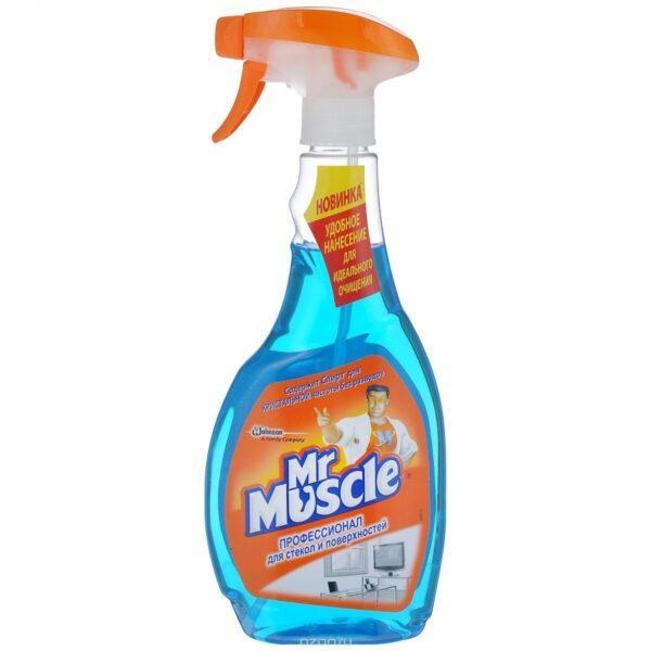 Средство для мытья стекол Mr Muscle Профессионал (после дождя) 500 мл