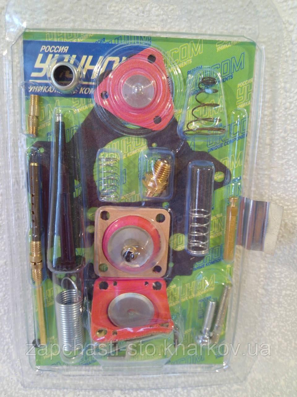 Ремкомплект карбюратора Солекс ВАЗ 2108-21099-2110 (1.3-1.5) (полный)