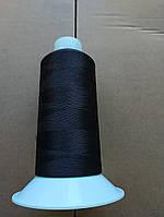 Coats Gramax   №160 цвет 09700 (  ЧЕРНЫЙ ).  5000 м.  Текстурированная.