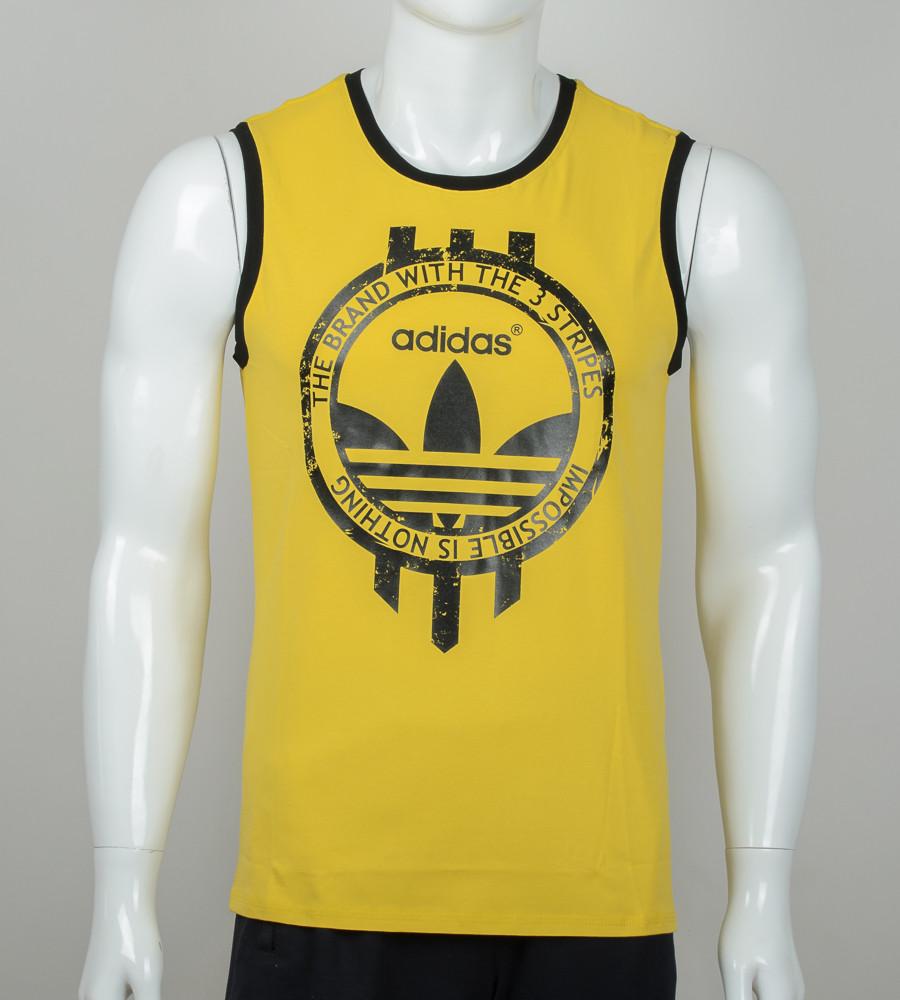 Безрукавка мужская Adidas (2074бм), Горчица