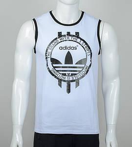 Безрукавка чоловіча Adidas (2074бм), Білий