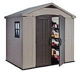 Садовый домик сарай Keter Factor 8x6 Shed, фото 2