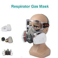 Респиратор, маска 3М 6200 + 10 фильтров, фото 1