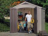 Садовый домик сарай Keter Factor 8x6 Shed, фото 3