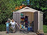 Садовый домик сарай Keter Factor 8x6 Shed, фото 8