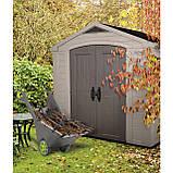 Садовый домик сарай Keter Factor 8x6 Shed, фото 6