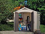 Садовый домик сарай Keter Factor 8x6 Shed, фото 10