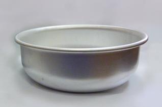 Таз алюминиевый круглый Калитва -10,6 л х 360 мм