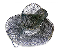 Садок для рыбы 5 колец складывается восьмеркой с чехлом, фото 1