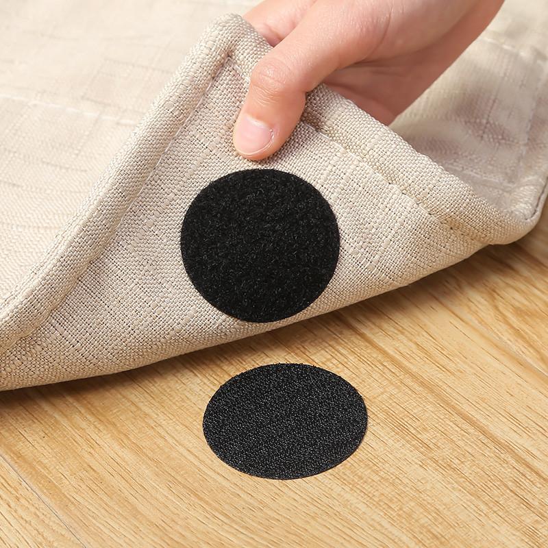 Наклейка-липучка чорна або біла 5 см