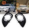 Рамки для ПТФ Toyota Camry 40 2009-2012 г.в. рестайлинг
